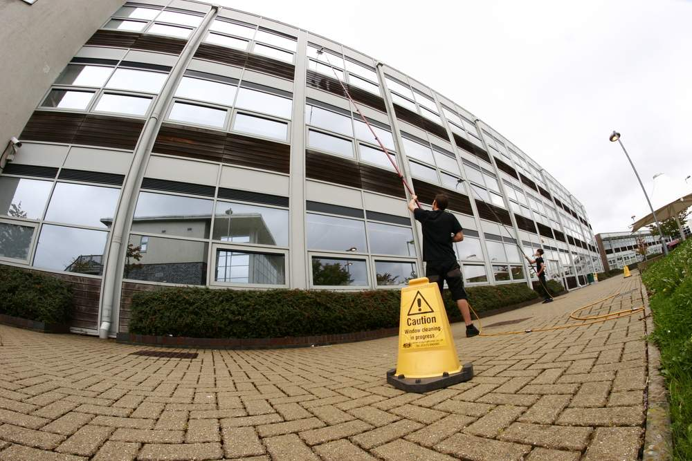 The Benefits of Regular Office Window Cleaning
